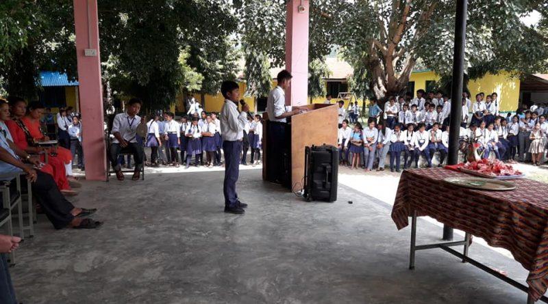 राष्ट्रिय बाल दिवसको अवसरमा बतृत्वकला प्रतियोगिताको आयोजना