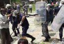 उदयपुरको बेलकामा प्रहरी र प्रदर्शनकारी बिच झडप